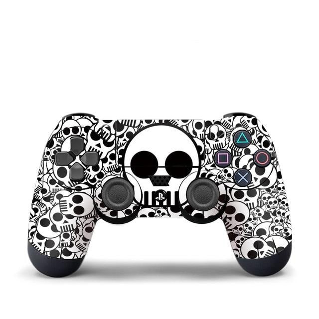 PS4 controller cartoon skull  skin