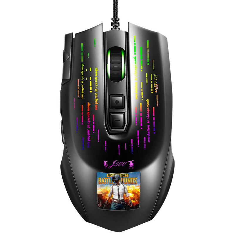 HXSJ J500 wired gaming mouse