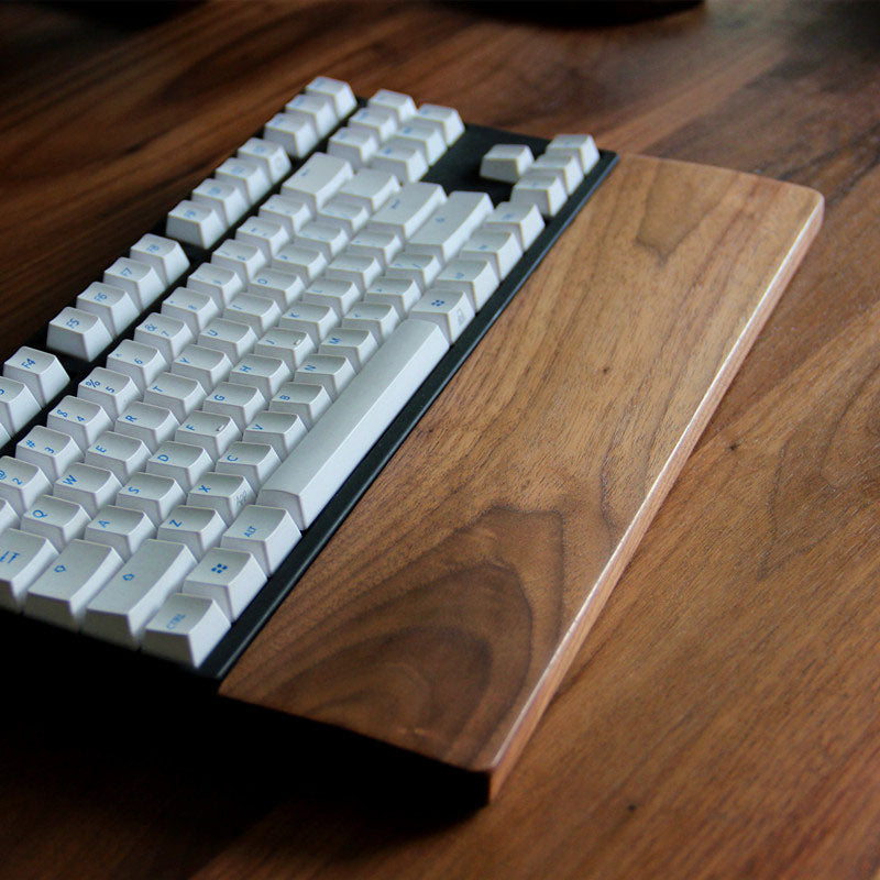Walnut wood wrist rest