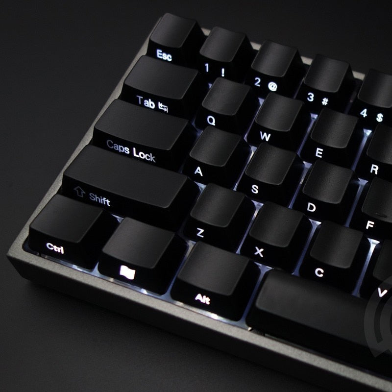 87/104 Side Printed Backlit Keycaps