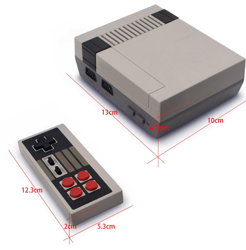 Data Frog 8 bit retro game console (500 games)