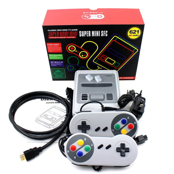 Coolbaby 8 bit retro game console (621 games)