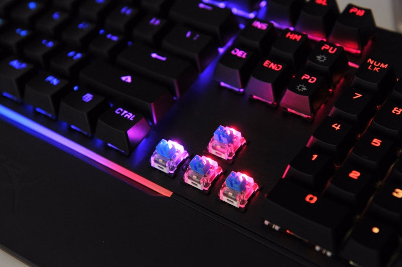 HyperX Mars mechanical keyboard
