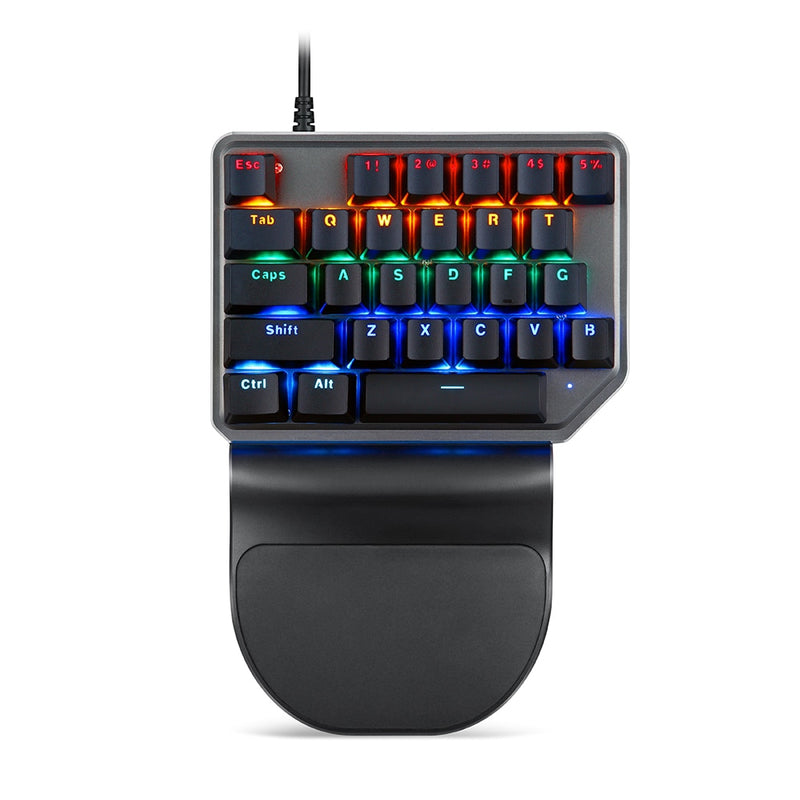 Motospeed K27 mechanical one-handed keyboard