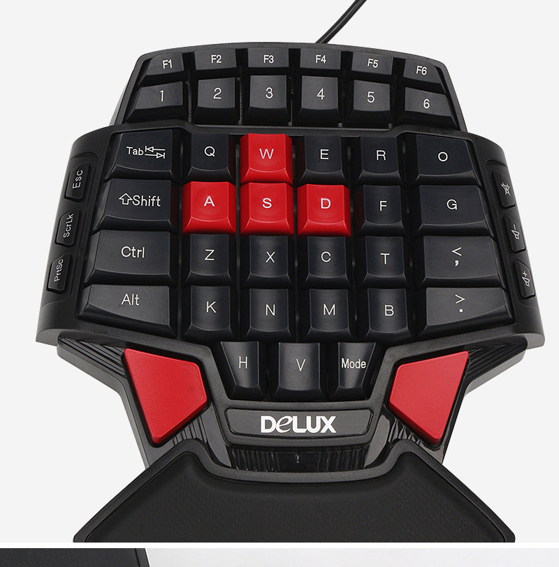 Delux T9 one-handed Keyboard