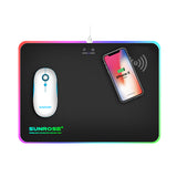 Sunrose wireless charging RGB mousepad