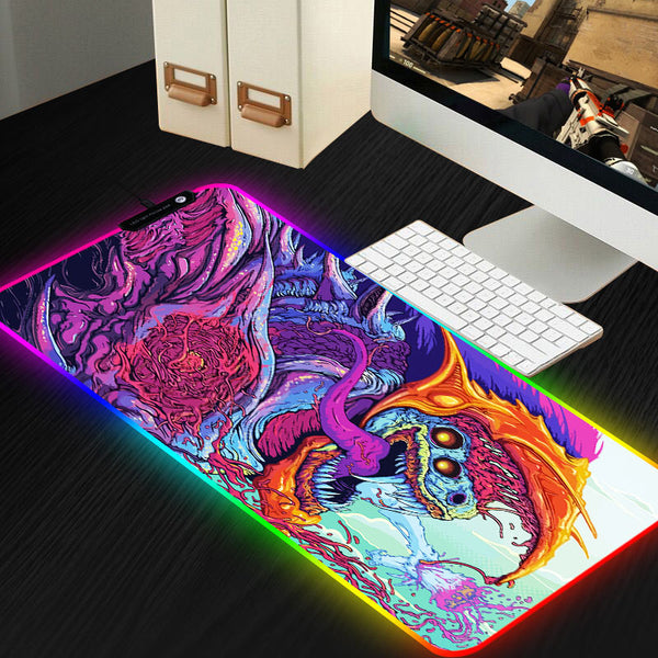 RGB Custom mousepad XL