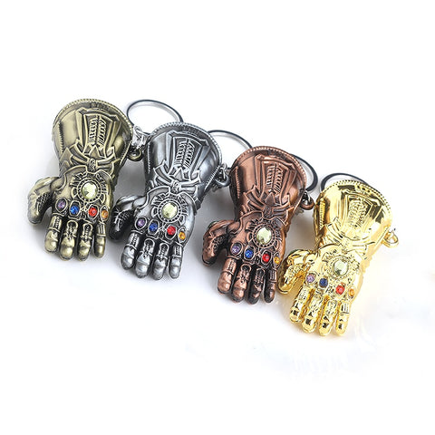 Thanos Infinity Gauntlet key chain
