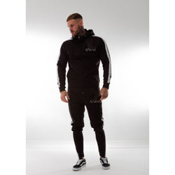 Super Nova Black Tracksuit Top