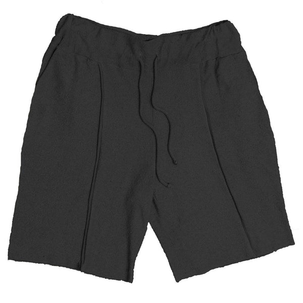 FRENCH TERRY SHORTS- CHARCOAL.