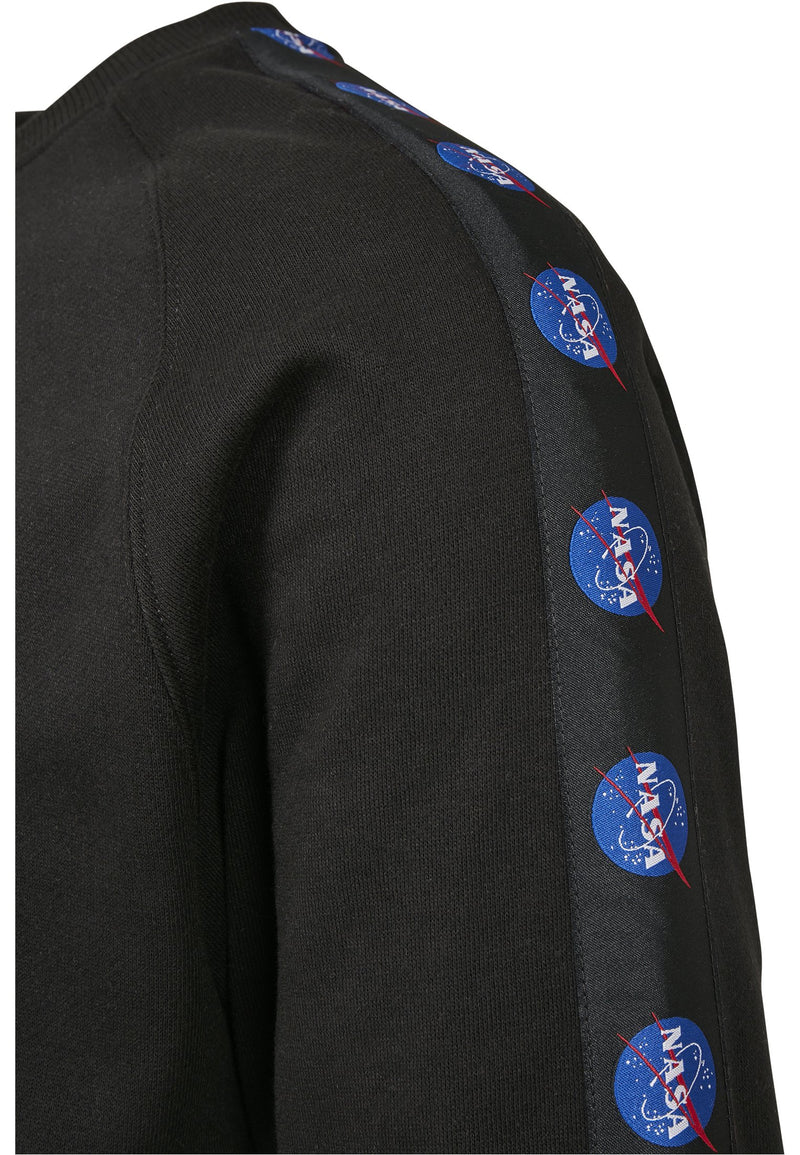 NASA Insignia Tape Crewneck Sweatshirt.