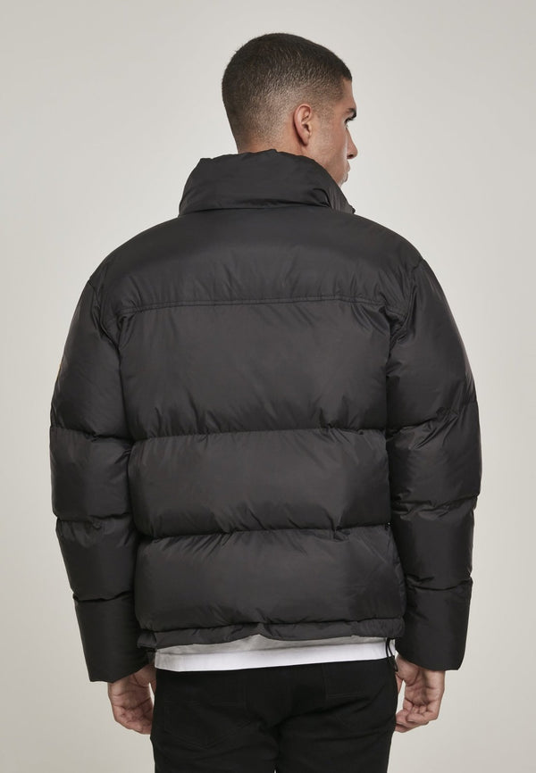 NASA Black Puffer Jacket.