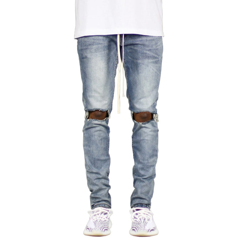 Zipper Skinny Stretch Fashion Jeans