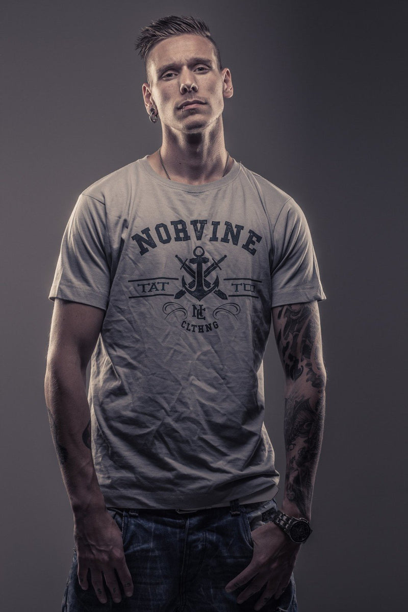 Tattoo Anchor T-Shirt by Norvine