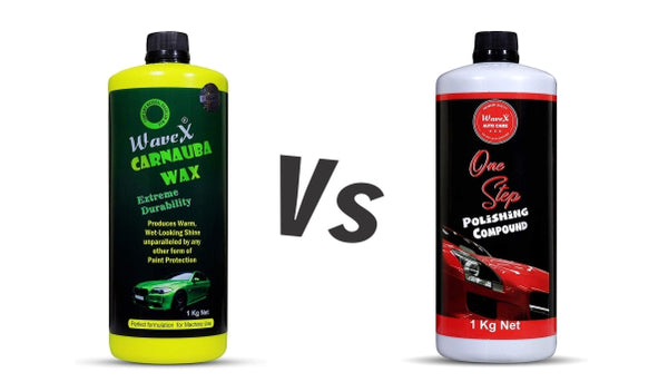 Car Wax vs Car Polish