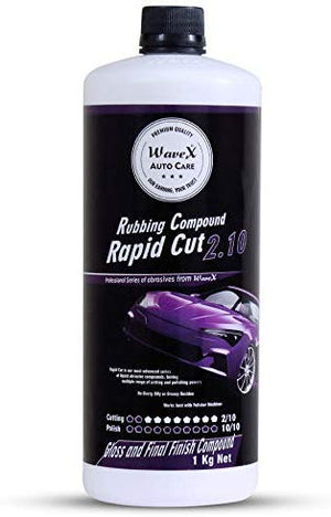Wavex® Rapid Cut 2.10 Rubbing Compound (Cut 2/10, Polish 10/10) Finish Cut Gloss Compound, 1 Kg