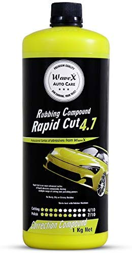 Wavex® Rapid Cut 4.7 Rubbing Compound (Cut 4/10,Polish 7/10) Medium Cut, 1 Kg)