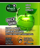 Wavex Multi Surface Floor Cleaner 1L with Green Apple Extracts | Cleans and Shines all kinds of Floors …