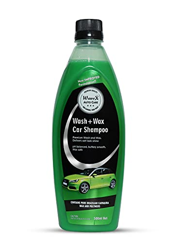 Wavex® Wash and Wax Car Shampoo