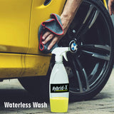 Wavex Hybrid-X Spray Wax, Waterless Wash, Rinse Aid and Quick Detailer Dilutes 20 Times with Water