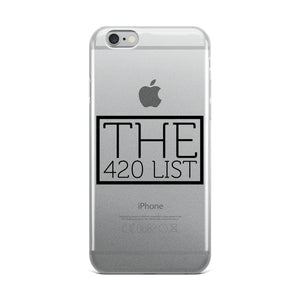 The 420 List iPhone Case