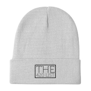 The 420 List Knit Beanie
