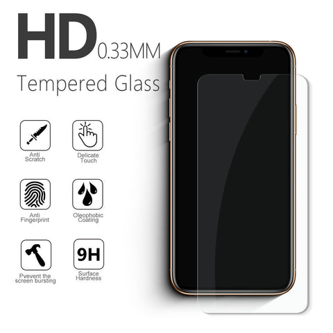 Vmax 2.5D Round Edge High Transparent Tempered Glass Screen Protector for iphone