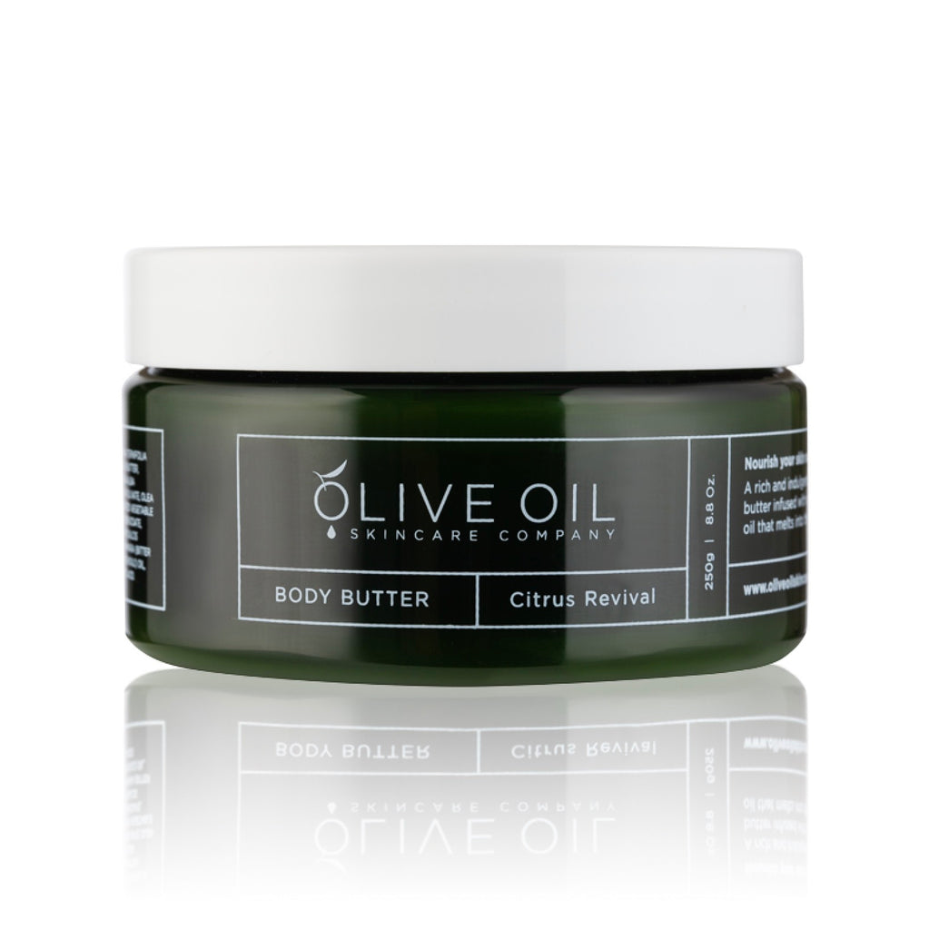 Olive Oil Body Butter Citrus Revival 250g