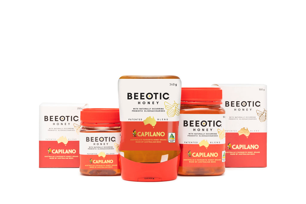 Beeotic Prebiotic Australian Honey in 3 Sizes