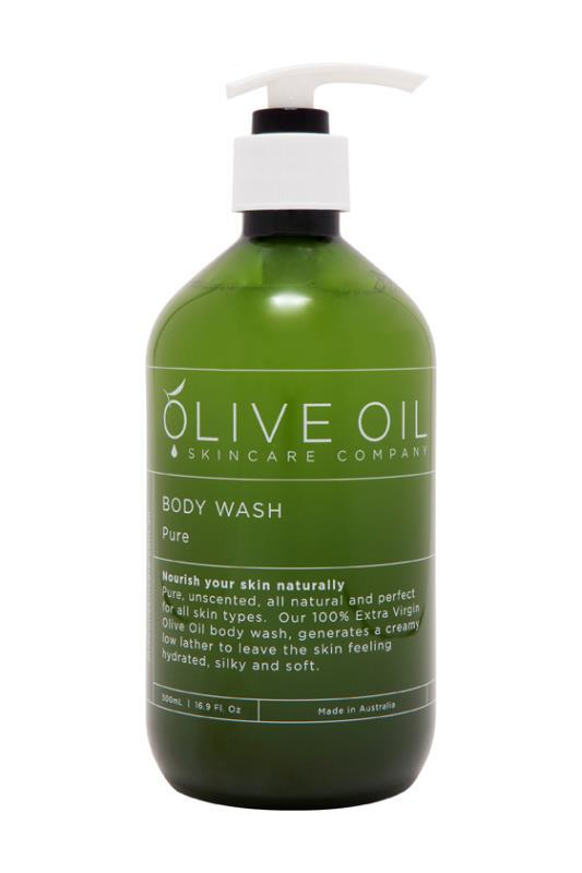 Olive Oil Body Wash Pure Unscented 500ml