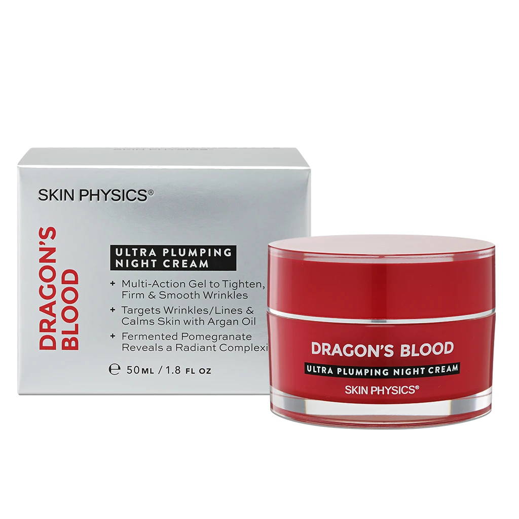 Skin Physics Dragon's Blood Ultra Plumping Night Cream 50ml