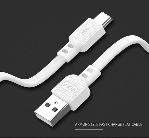 Fast Charging Cable lightning / Micro USB / Type C for mobile phone Golf GC66