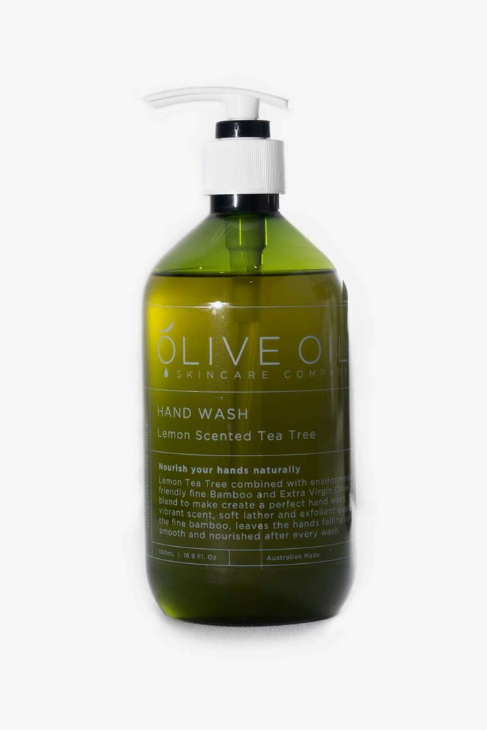 Olive Oil Hand Wash Lemon Scented Tea Tree 500ml