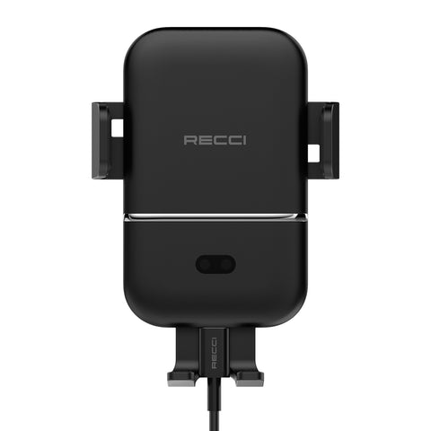 Recci 15W Fast Wireless Charging Auto Locking Car Mount Holder Air Vent For Mobile Phone