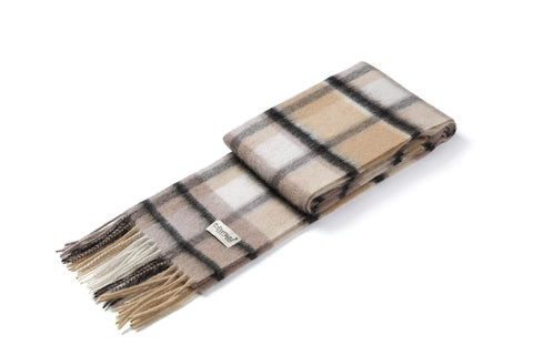 Ever UGG Wool Plaid Scarf