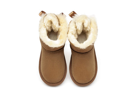 AS UGG Kids Mini Back Bow Boots #AS3008