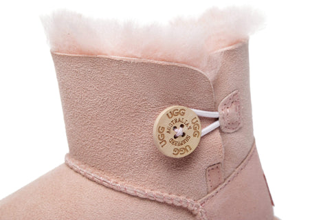 AS UGG Kids Mini Button Boots #AS3007