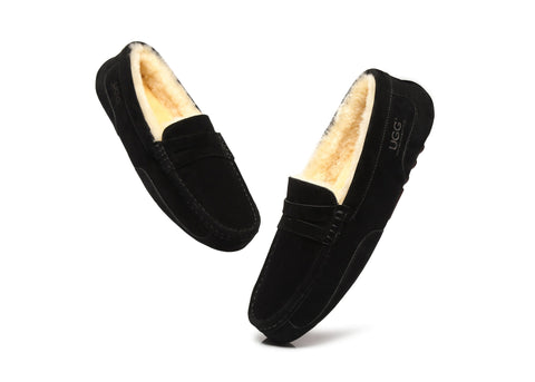 AS UGG Mens Fashion Moccasin