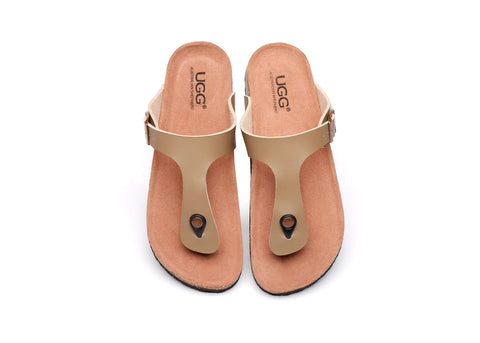 AS UGG Summer Unisex Beach Slip-on Flats Slides Thongs Beck