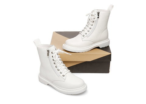 AS UGG Zip Up Chunky Boots Belen