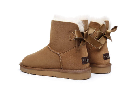 Ever UGG Effie,Mini Ladies Bailey Bow Boots #21591