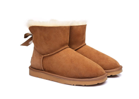 Ever UGG Mini Women Boots with Bailey Bow