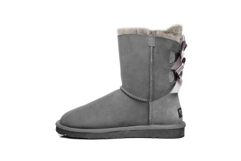 Ever UGG Ladies Bailey Bow Short Classic Boots #11837
