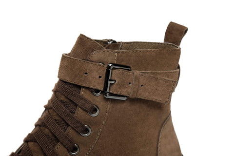 Ever UGG Ladies Leather lace-up boots Sarabi #321024