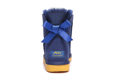 TA Cancer Council Mini Back Bow Boots