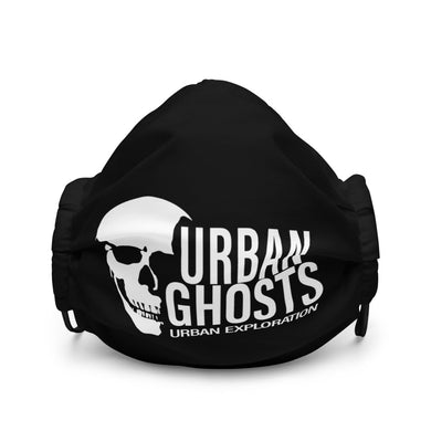 Urban Ghosts Logo Premium face mask - Black