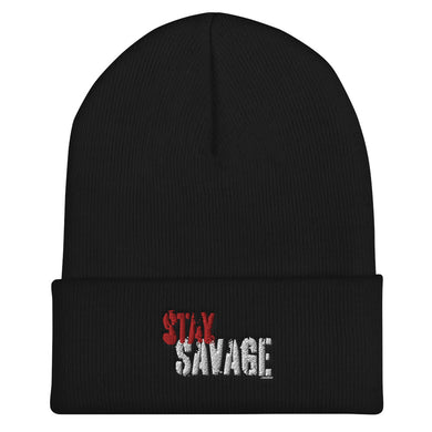 Stay Savage Cuffed Beanie (4 Colors)