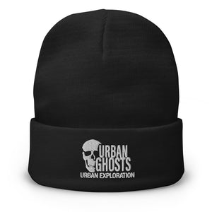 Urban Ghosts Logo Embroidered Beanie (5 Colors)