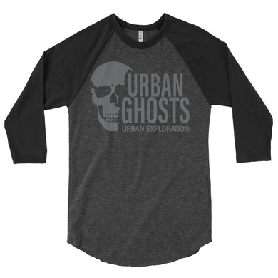 Urban Ghosts Logo 3/4 Sleeve - Men