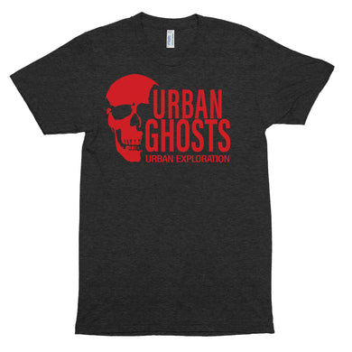 Urban Ghosts Red Logo Track Shirt - Unisex